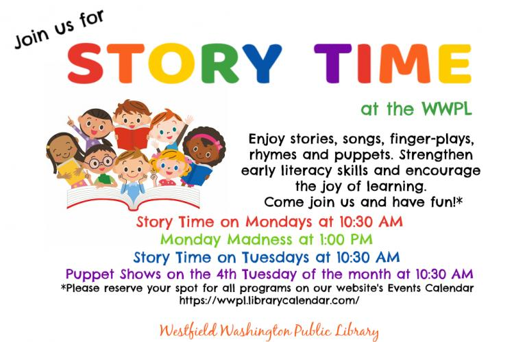 Story Time at Westfield Library