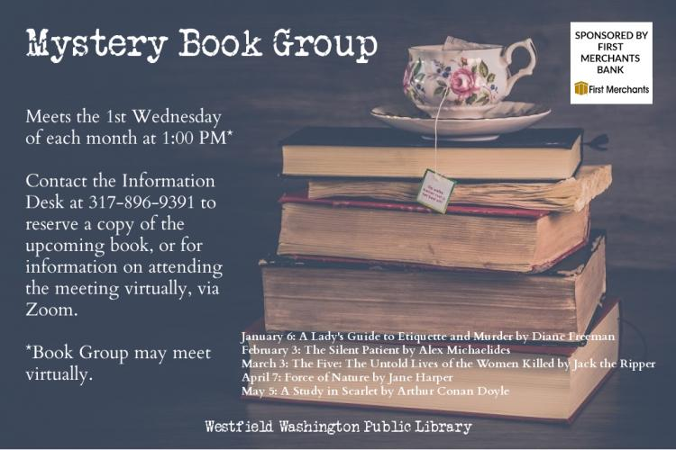Mystery Book Group at Westfield Library