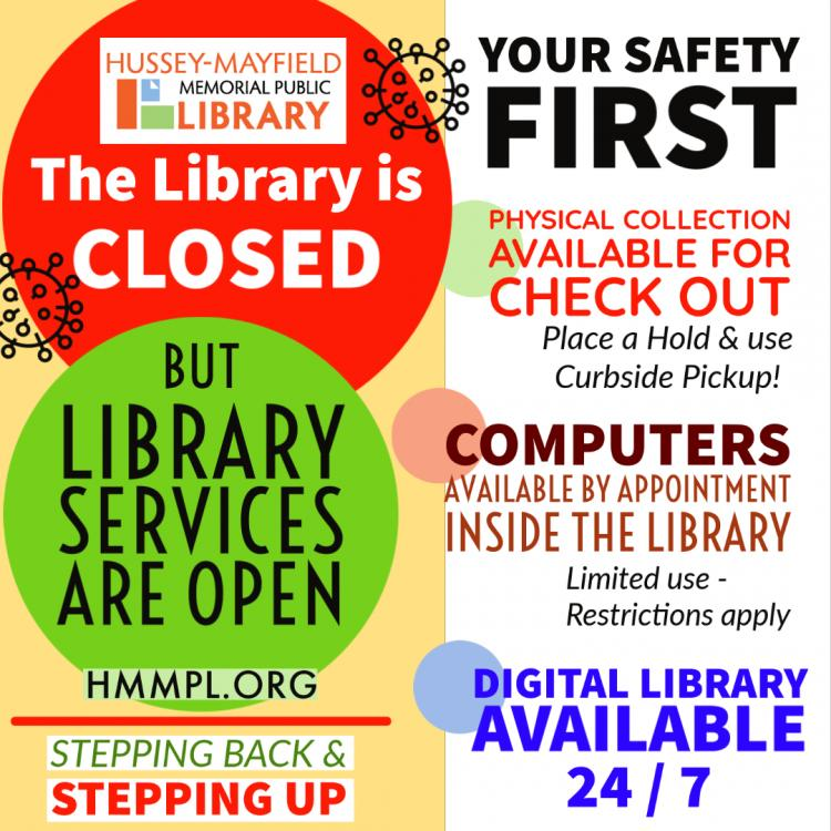 Zionsville Library - Putting Your Safety First!