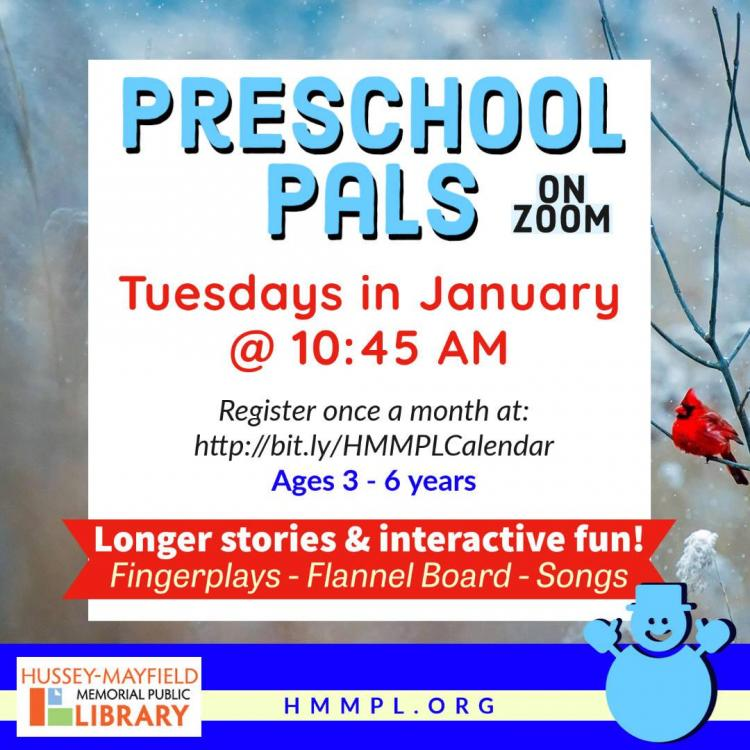 Virtual Preschool Pals