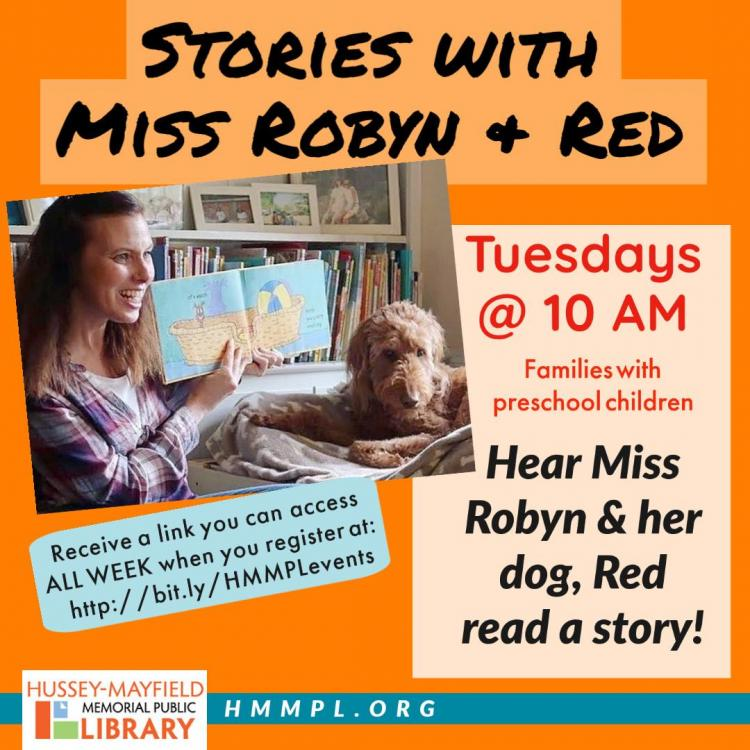 Stories with Miss Robyn and Red
