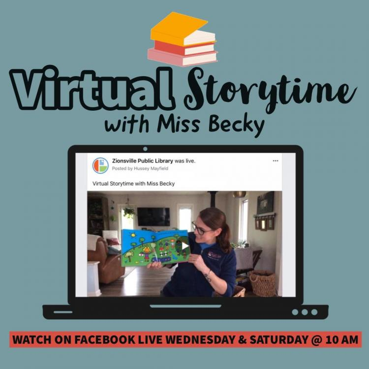 Virtual Storytime with Miss Becky