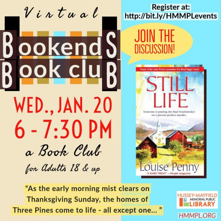 Bookends Book Club with ZPL