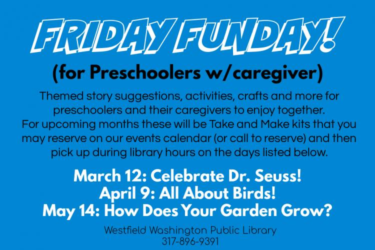 Friday Funday for Preschoolers