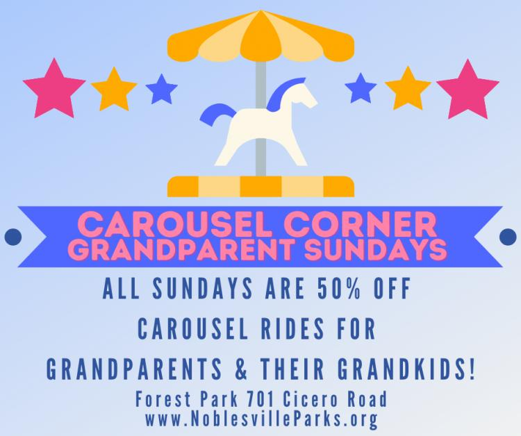Grandparent Sundays at the Forest Park Carousel