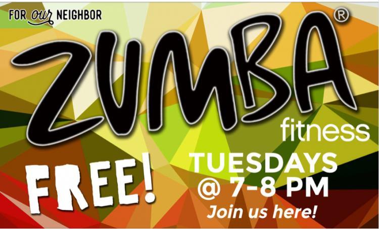 FREE Zumba at CrossRoads Church in Westfield