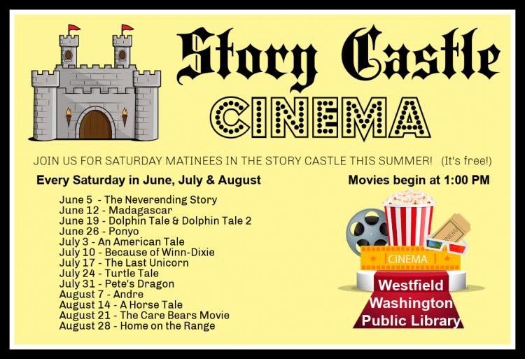 Summer Story Castle Cinema at Westfield Library