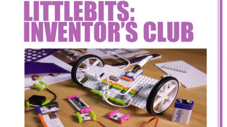 littleBits Inventors Club, 1st Saturday of Every Month | Somerset County Library