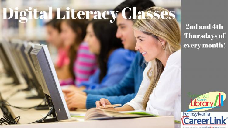 Digital Literacy Classes, Co-Hosted by Career Link | Somerset County Library