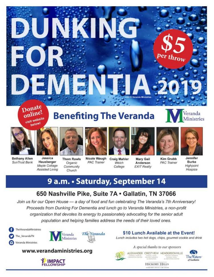 Veranda Ministries' Dunking For Dementia