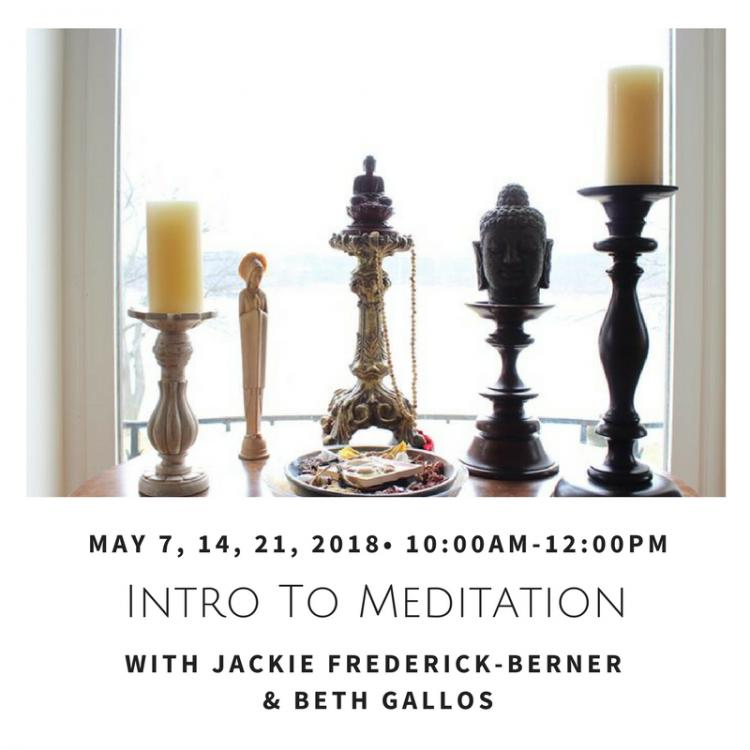 Intro to Mindfulness Meditation with Beth Gallos and Jackie Frederick-Berner