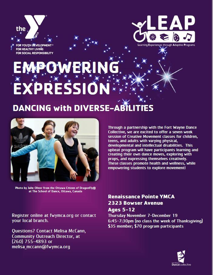 Dancing with Diverse Abilities
