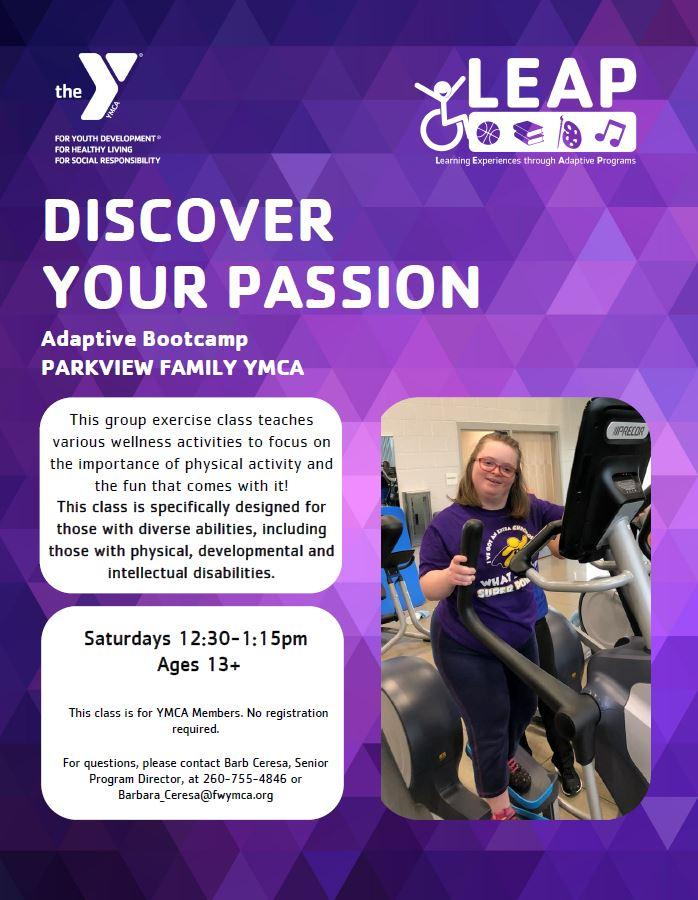 Adaptive Fit Camp (YMCA of Greater Fort Wayne)