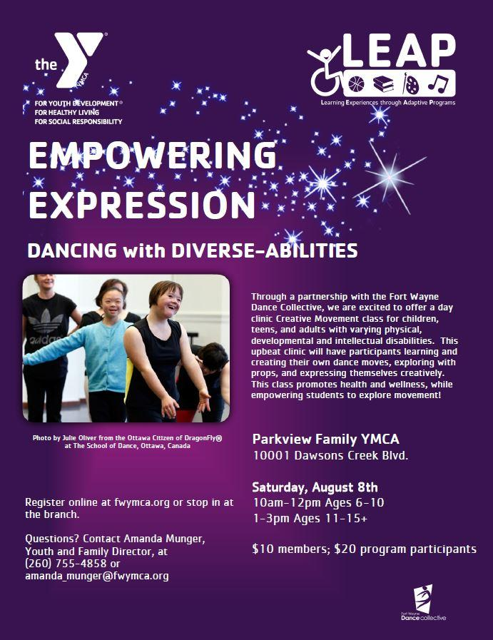 Adaptive Dance Ages 6-10