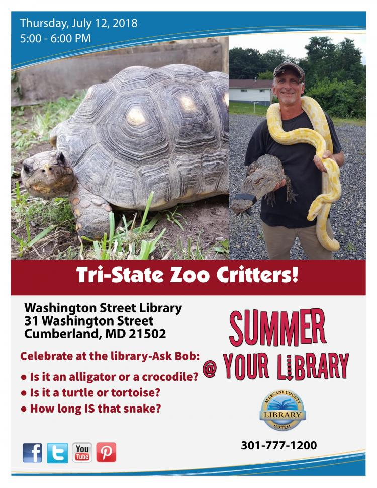 Tri-State Zoo Critters!