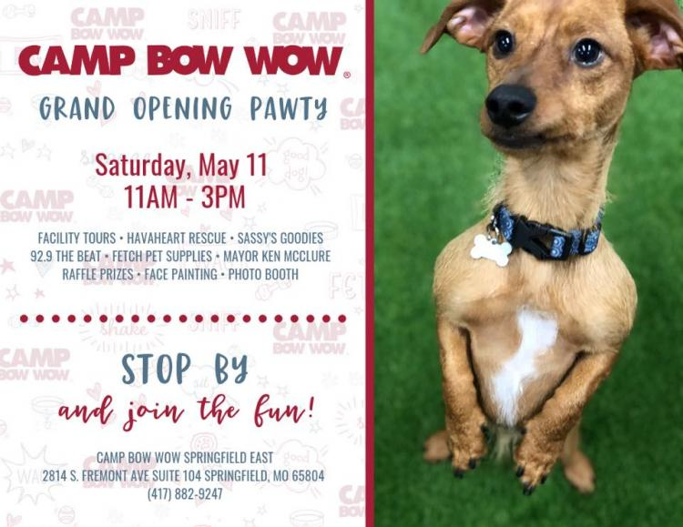 Grand Opening Pawty!