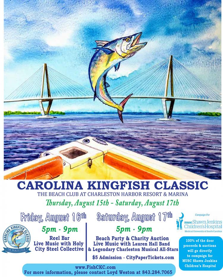 The Carolina Kingfish Classic Beach Party and Charity Auction benefiting campaig