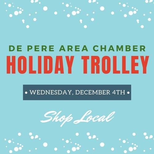 Out & About with the De Pere Chamber: Holiday Trolley