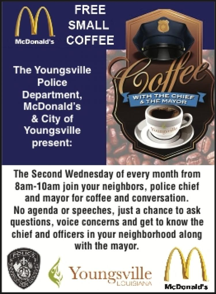 Coffee with the Chief and the Mayor