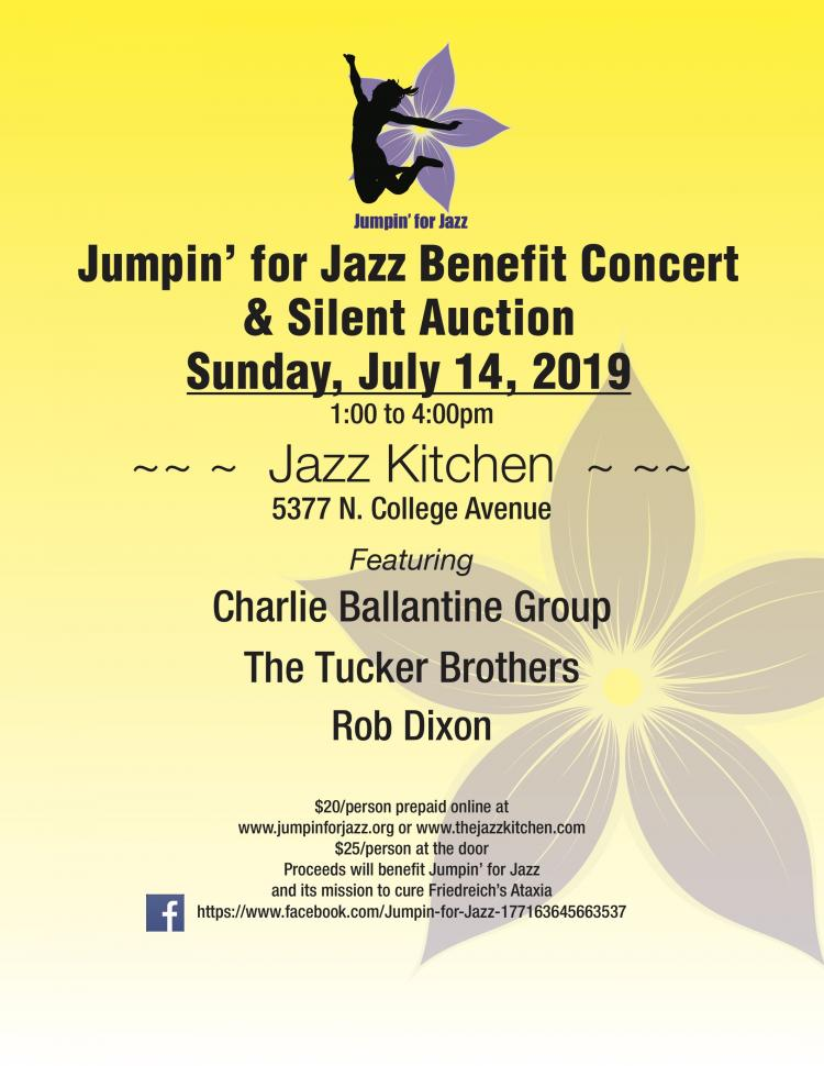Jumpin' for Jazz Benefit and Silent Auction