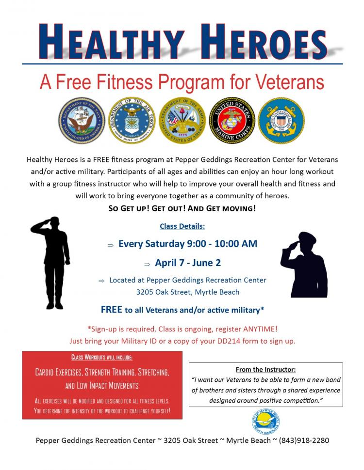 Healthy Heroes: Free Fitness Program for Veterans