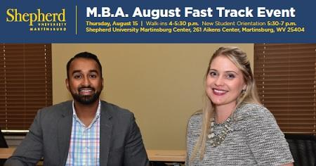 Shepherd University Fast Track Enrollment Event