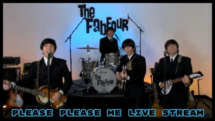 The Fab Four: Please Please Me Live Stream