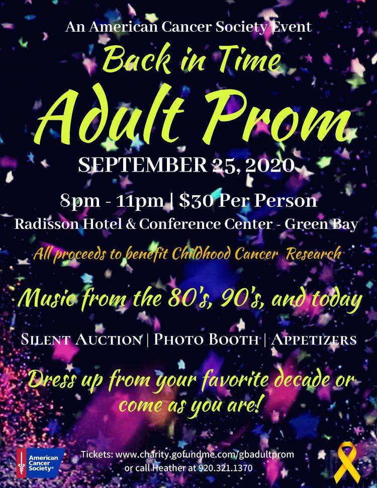 Back in Time Adult Prom