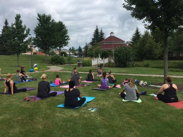 Yoga in the Park, Free Community Outdoor Yoga