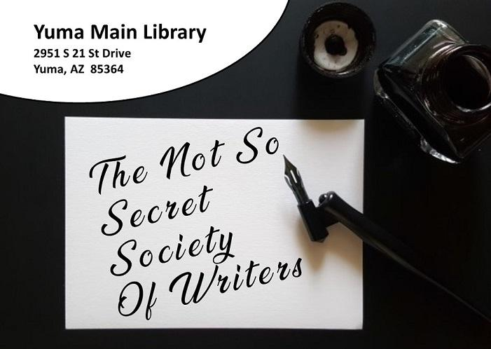 The Not So Secret Society of Writers
