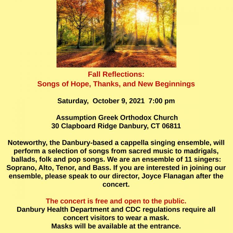 Fall Reflections: Songs of Hope, Thanks, and New Beginnings