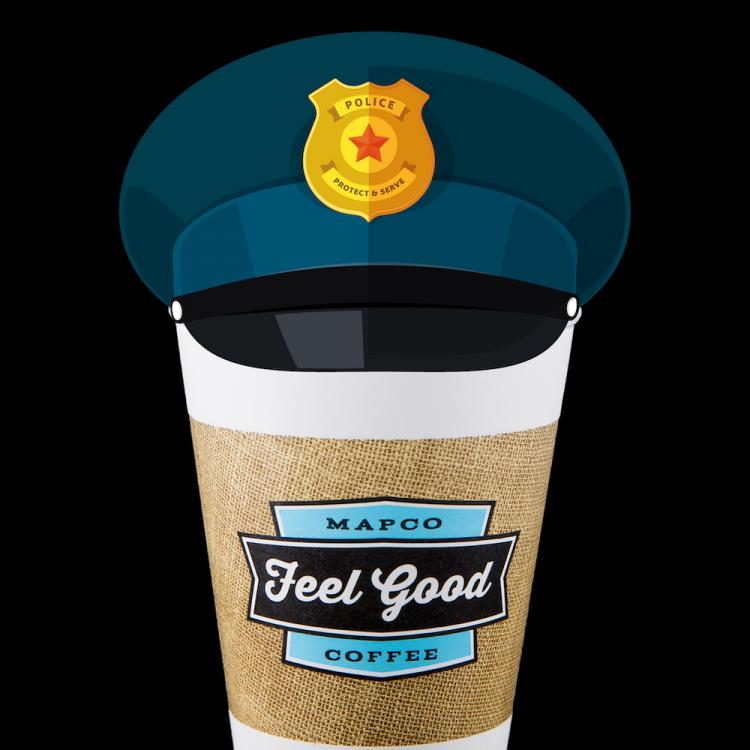 """Celebrate """"National Coffee with a Cop Day"""" at MAPCO"""