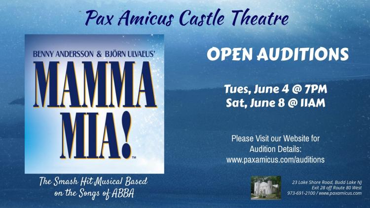 Auditions: Mamma Mia!