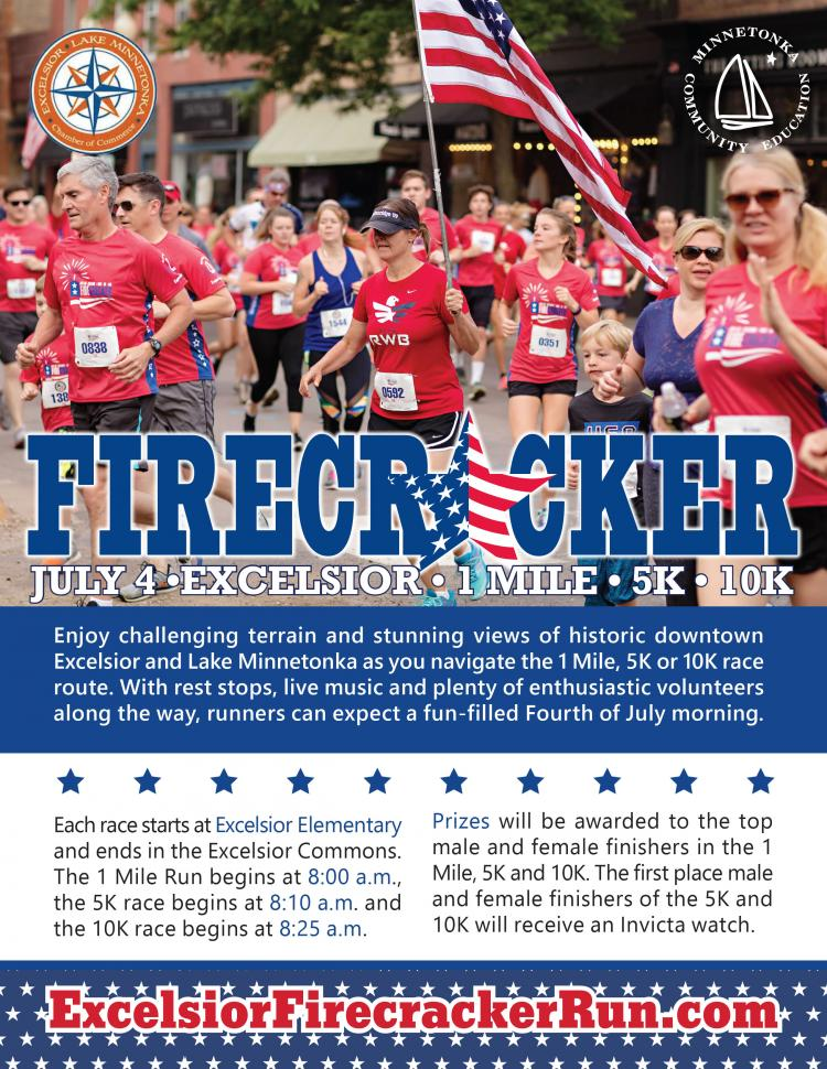 Excelsior Firecracker Run