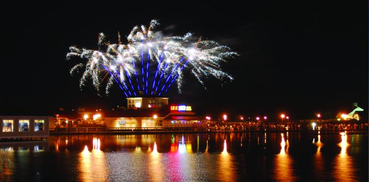 Fireworks Spectacular Every Monday at Barefoot Landing