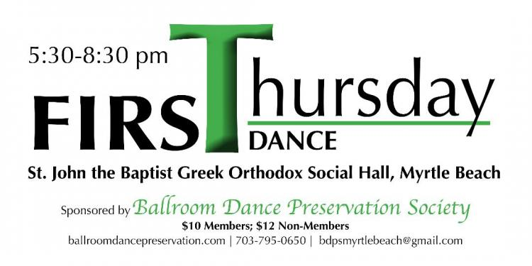 First Thursday Dance