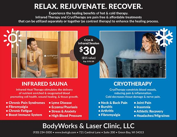 $30 Cryo & Infrared Session