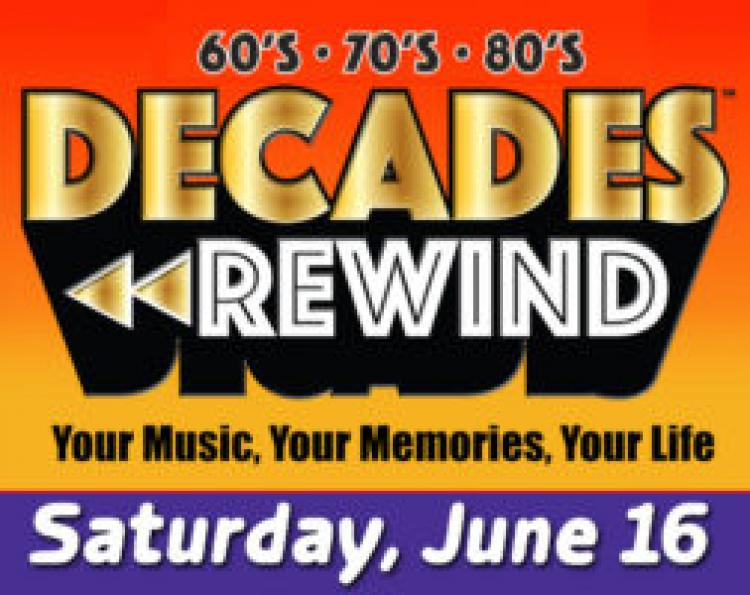 DECADES REWIND : Hits of the 60's, 70's, 80's