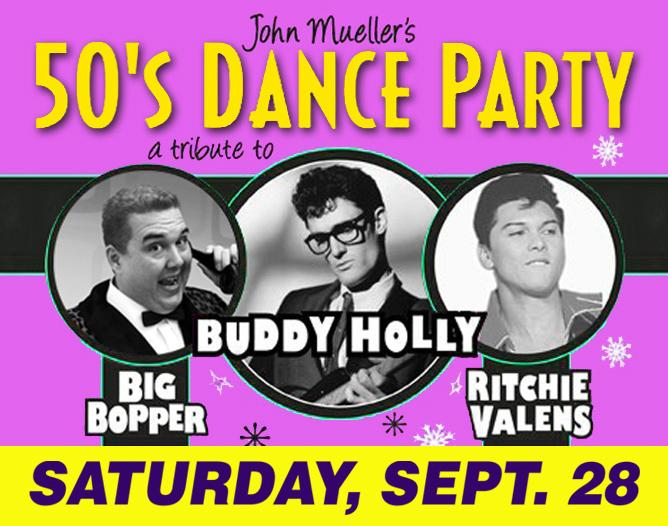 50's Dance Party-Official Tribute to Buddy Holly, Ritchie Valens, & The Big Bopp