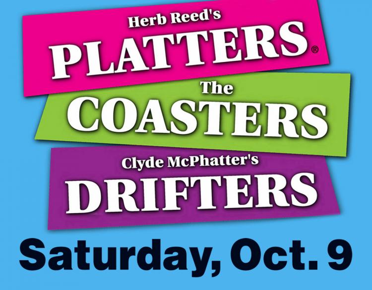Herb Reed's Platters, Clyde McPhatters Drifters, And The Coasters