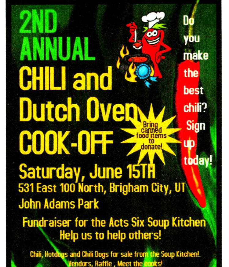Acts Six Soup Kitchen Chili Cook-Off Event 2019