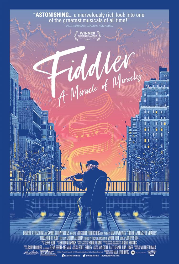 CBS Film Series presents Fiddler: A Miracle of Miracles