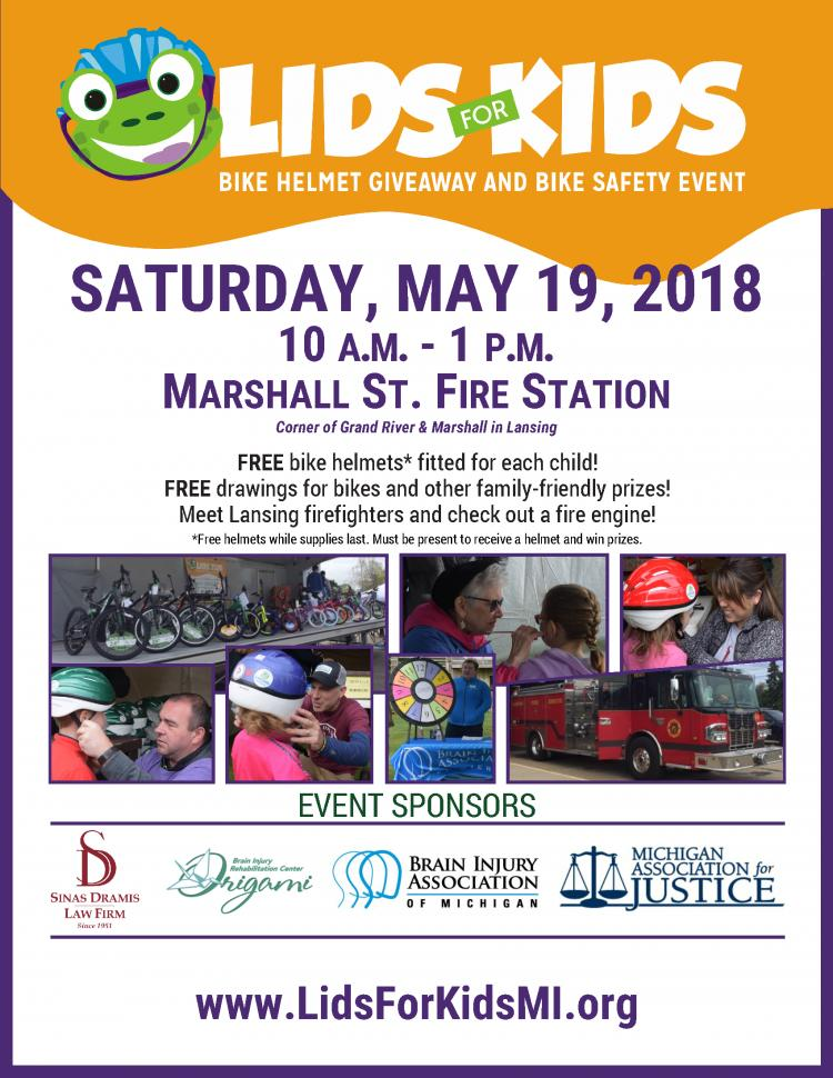 Lids for Kids Bike Safety & Bike Helmet Giveaway