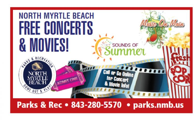 Music on Main Summer Concert Series Every Thursday Night in North Myrtle Beach