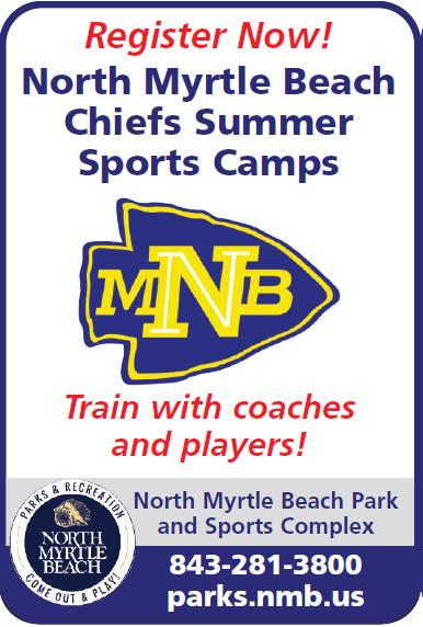 Registration Going on Now for City of NMB Sports Camps with NMBHS Coaches & Play