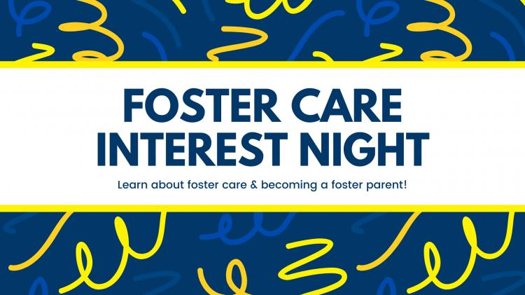 Foster Care Interest Meeting