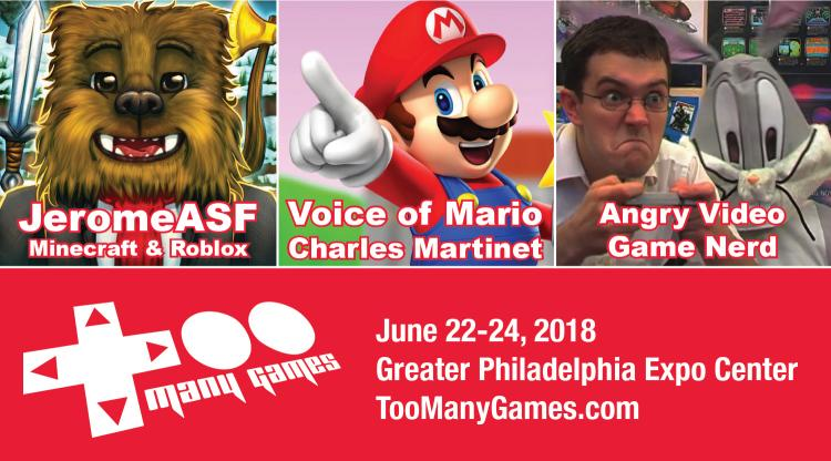 TooManyGames Celebrates History of Gaming at 2018 Video Game Convention