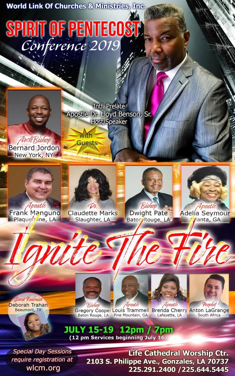 SPIRIT OF PENTECOST CONFERENCE 2019