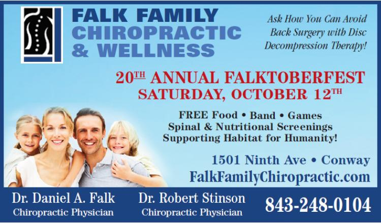 20th Annual Falktoberfest at Falk Family Chiropractic
