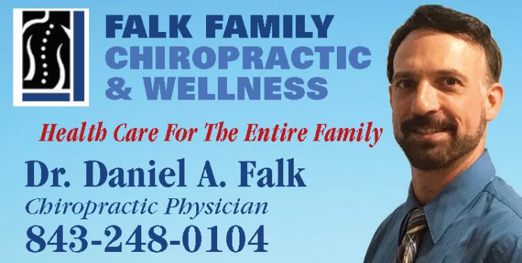 Come wave to Falk Family Chiropractic's Float at the Conway Christmas Parade